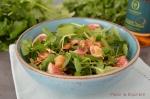 Salade de cresson auxamandes